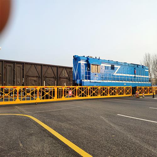 新沂鐵路道口伸縮式欄門